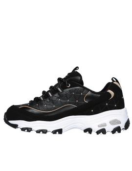 Skechers Dlites color negro