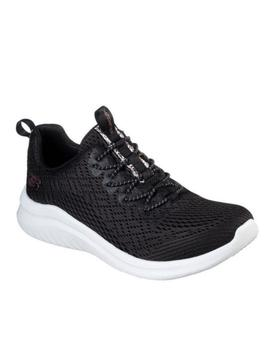 Deportiva Skechers ultra flex lite color negro