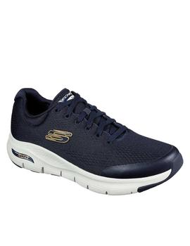 Deportiva Skechers Arch fit hombre azul