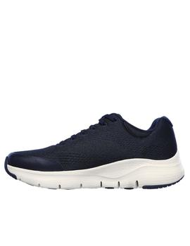 Deportiva Skechers Arch fit azul